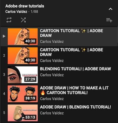 Tutorial gratis Adobe illustrator Draw